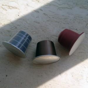 Forskellige Nespresso kapsler